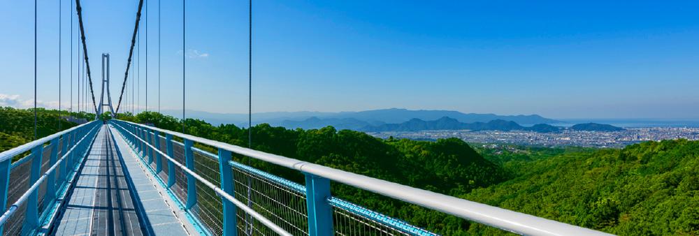 Mishima Skywalk in Japan